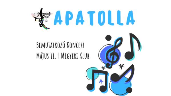 APATOLLA Koncert | május 11. | Megyeri Klub